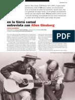En La Tierra Carnal. Entrevista Con Allen Ginsberg (5346)