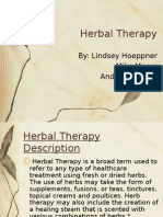 Herbal Therapy Presentation