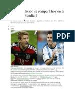 Alemania Campeon Del Mundo 2013