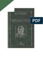 01 Os Pré Socraticos Coleção Os Pensadores 1996