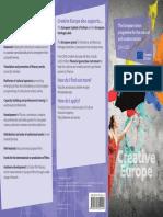 Creative Europe Flyer Web En