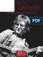 John Lennon - The Stories Behind Every Song 1970-1980-Paul Du Noyer