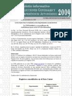 Boletín Padrón Electoral