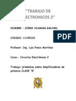 Trabajo de Electronicos 2 JORGE HUAMAN GALVAN