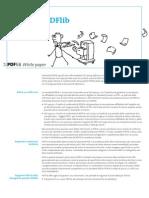 Whitepaper PDFA With PDFlib Products I
