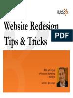 Website Redesign Marketing