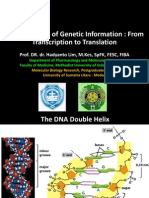 Expression of Genetic Information