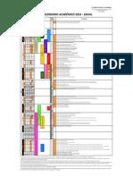 Calendario Academico 2014- Anual