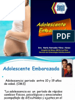 Adolescente Embarazada.abril 2009
