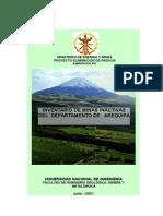Inventario Minas Inactivas Arequipa
