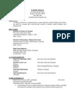 lashelles nursing resume