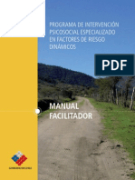 Manual Factores de Riesgo de Reincidencia Dinamicos