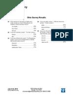 PPP Poll - Ohio Secretary of State