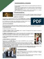 Ficha Vocación Sacerdotal y Religiosa