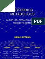 disturbios metabolicos