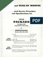 Packard Repair and Tune-up manual