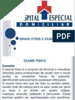 Sinais Vitais e Exame Físico