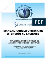 Manual Para La Oficina de Atencion Al Paciente
