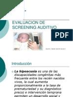 Dicertacion Audio Evaluacion de Screening Auditivo