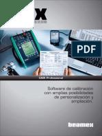 Beamex CMX Professional Brochure ESP
