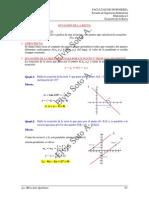 Ecuación de La Recta(3)