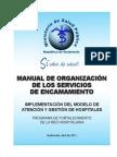Manual de Organizacion de Servicios de Encamamiento