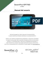 Manual SmartPadEP750 ES