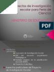 Proyectos de Investigación Escolar