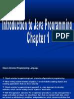 Basic Java Chapter 1