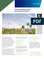 Sustentabilidad y Responsabilidad Social