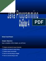 Basic Java Chapter 4