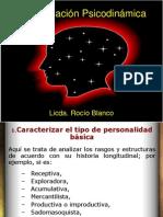 Formulación Psicodinámica