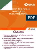 Valoracion de La Funcion Neurologica y Musculo Esqueletica