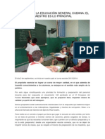 Desafios de La Educacion General Cubana