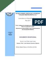 Documento Recepcional 1, 2 y 3 Capitulo
