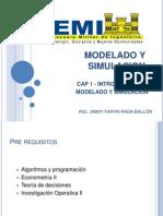 Modelado y Simulacion 1 Modelado Simulacion