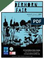 2014 Powderhorn Art Fair Program