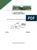 Trabajo de Logistica Con Itro y Con