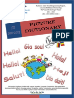 European Picture Dictionary