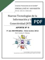 Apunte Nº 0 4º Año Secundaria NTICx 2012