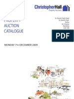 Christopher Hall Property Auction Catalogue  - 07-12-2009