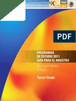 63878972 Programa de Estudios 2011 Tercer Grado