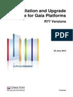 CP R77 Gaia Installation and Upgrade Guide