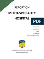 Case Study on Hospital