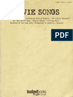 Movie Songs by Budget Books