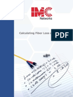 Calculating Fiber Loss