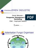 Pengantar Manajemen SDM & Marketing
