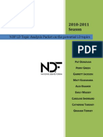 NDF Topic Analysis 2010.2011