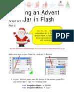 Creating an Advent Calendar in Flash II