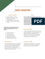 Toefl Booster by Mahavir Jain Academy